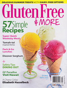Gluten-Free & More - Color Garden offers gluten free all natural food coloring.
