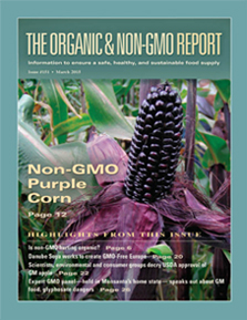 The Organic & Non-GMO Report - Color Garden's all natural food colorings are organic and non-GMO.